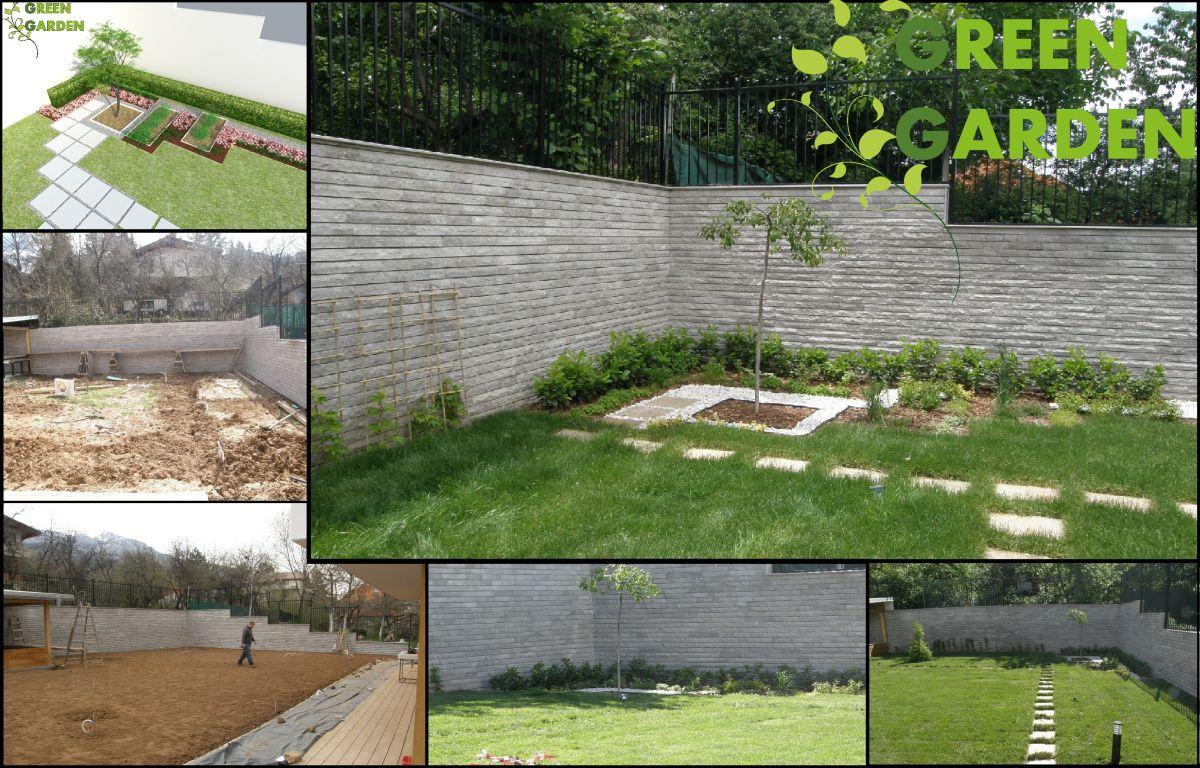 Проектиране и изграждане на градини в кв.Драгалевци.Изграждане на поливни системи.Поддръжка.